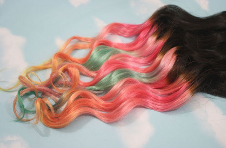 Coloring Hair Extension