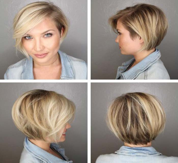 Haircut Style for Big Face